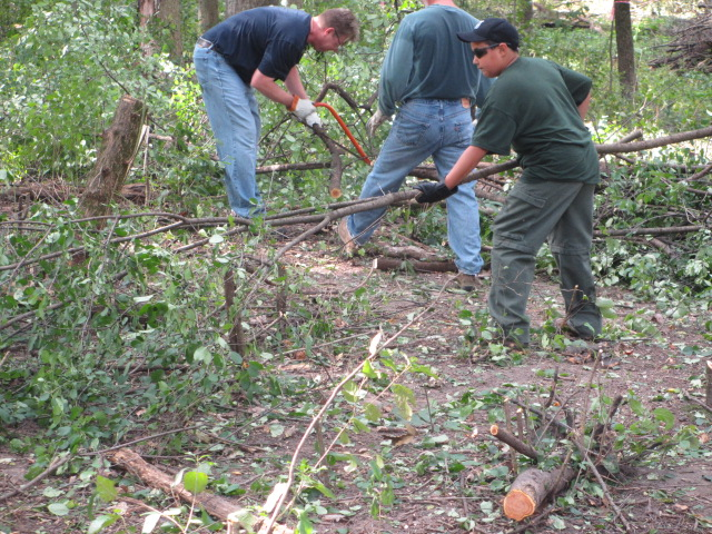 Fabyan Forest Preserve Work Day