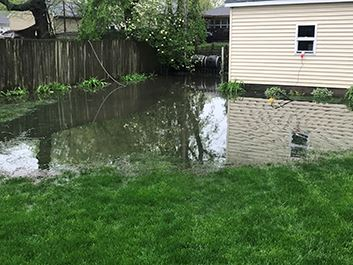 Backyard Flooding