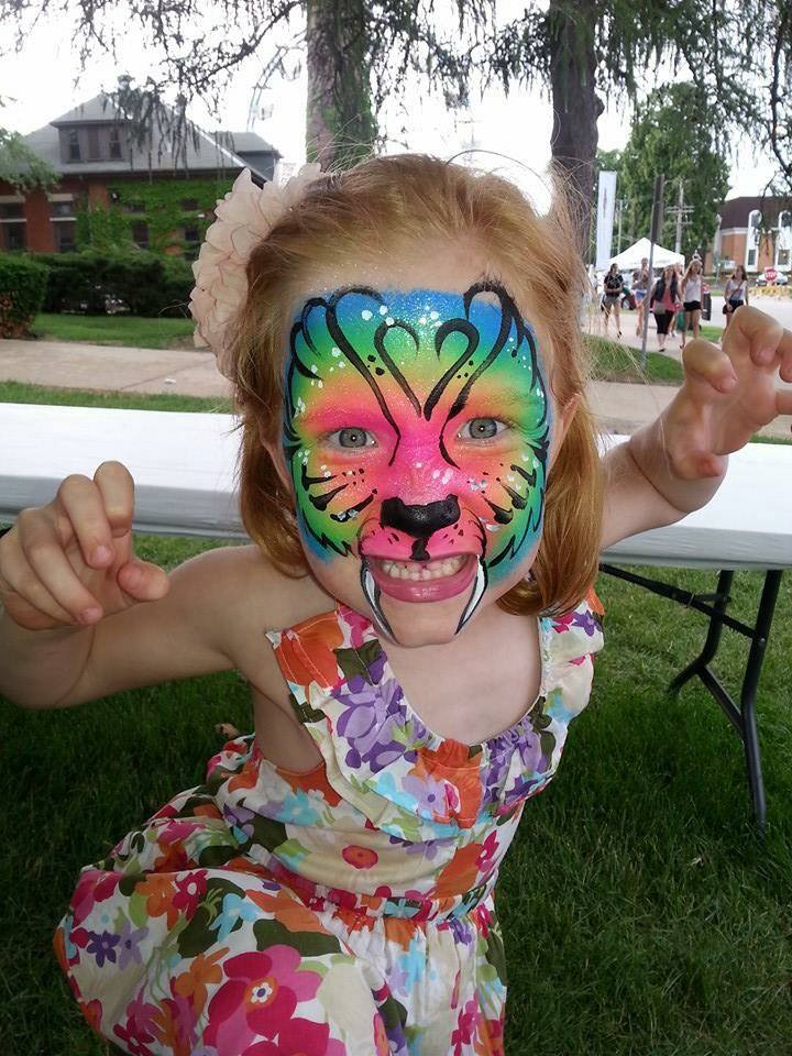 Swedish Days Face Painting - Mary Costello